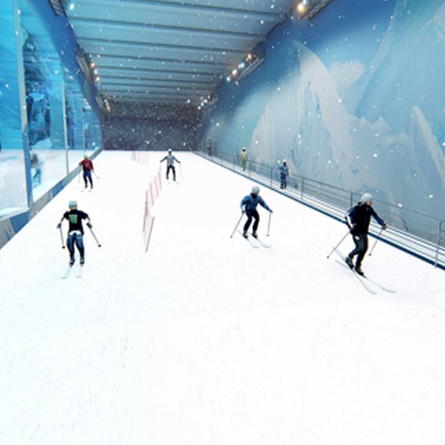 ice city ski slope